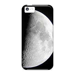 Rugged Skin Cases Covers For Iphone 5c- Eco-friendly Packaging(moon)