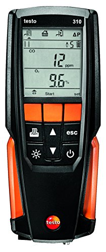 Testo 310 Residential Combustion Analyzer Kit from Testo