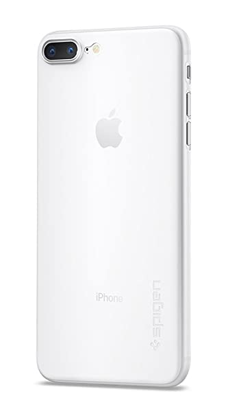 size 40 037b7 ede27 Spigen Air Skin iPhone 8 Plus Case / iPhone 7 Plus Case with  Semi-transparent Lightweight Material for Apple iPhone 8 Plus (2017) /  Apple iPhone 7 ...