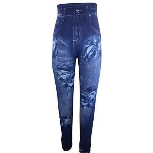 Denim Femmes Jeans Size Print Pencil Rose Mode Leggings Plus Krastal Unique 2018 Slim w0IEKqt
