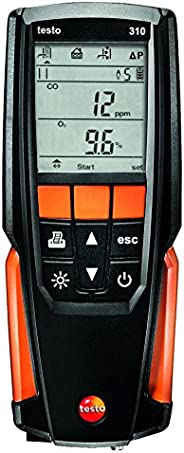 Testo 310 Residential Combustion Analyzer Kit (0563 3100)