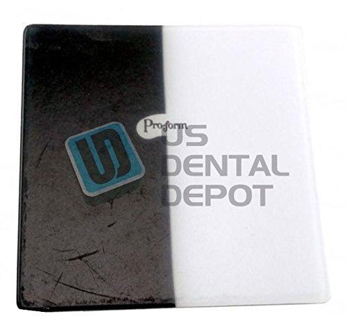PRO-FORM - DUAL-COLOR Mouthguards Laminate Black/White 5x5 1 113686 Us Depot