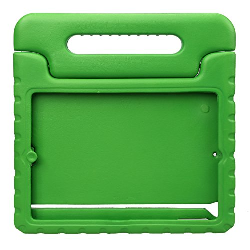 NEWSTYLE Apple iPad Air/iPad 5 Shockproof Case Light Weight Kids Case Super Protection Cover Handle Stand Case for Kids Children for Apple iPad 5 / iPad Air 10.1-inch Tablet - Green Color