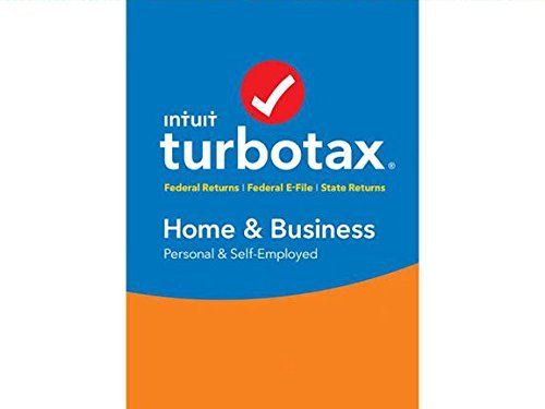 TurboTax Home & Business 2016 Fed + State + Fed Efile Tax Software (PC)