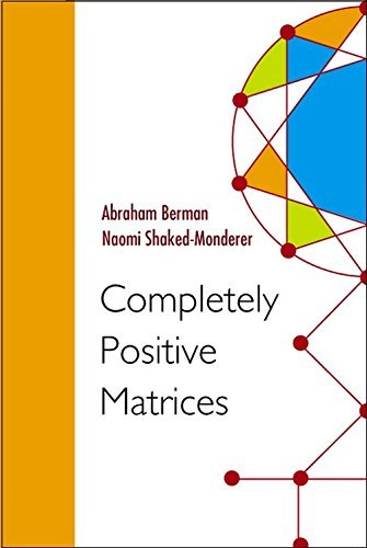 completely positive matrices - 2