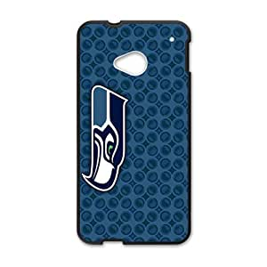 Happy Seattle Seahawks Hot Seller Stylish Hard Case For HTC One M7