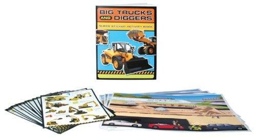 Big Trucks and Diggers Super Sticker Activity Pack (Caterpillar)
