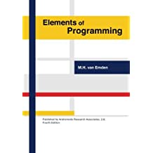 Elements of Programming (4th edition)