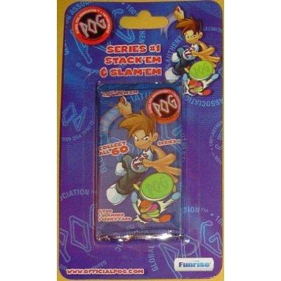 POG Series #1 Stack'em & Slam'em Foil Pack Only (Game Box Not Included) 100% Authentic