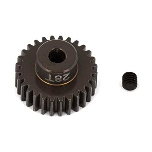 Team Associated 1346 Factory Aluminum 28T 48P 1/8 Shaft Pinion Gear