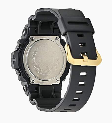 CASIO Black Plastic Watch-GA-810GBX-1A4ER