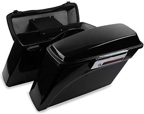 Kit di Borse Rigide Laterali con telaietti per Harley-Davidson Heritage Softail Classic 88-17