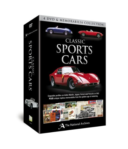 Classic Sports Cars (4 DVD & Memorabilia Collection)