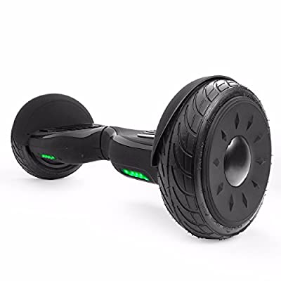 """XtremepowerUS 10"""" Electric Scooter, Self-balancing Hoverboard w/ Bluetooth Speaker (Matte Black) from XtremepowerUS"""