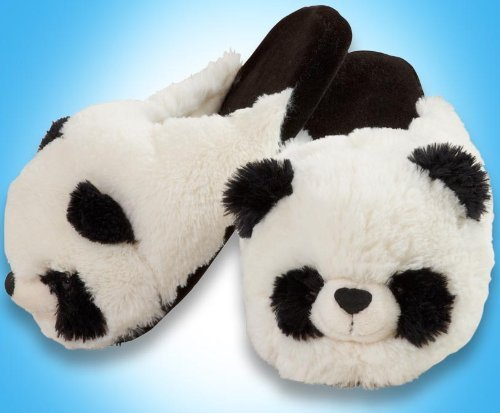 - My Pillow Pets Panda Slippers - Small(Kids)