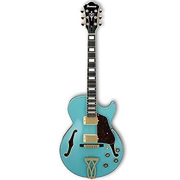 Ibanez ag75g Artcore Semi-Hollow cuerpo - Guitarra eléctrica, color azul: Amazon.es: Instrumentos musicales