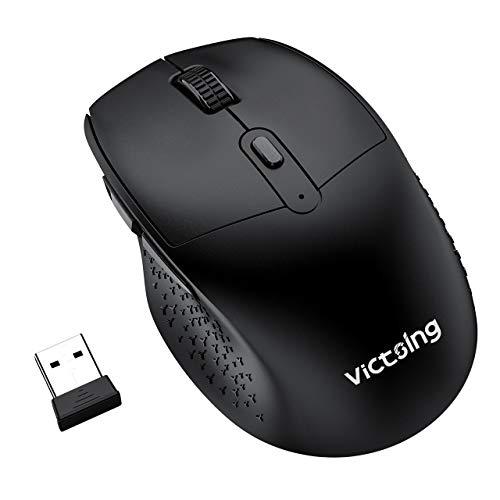 ماوس بی سیم VicTsing Ergonomic Wireless مدل LD092747 +USB