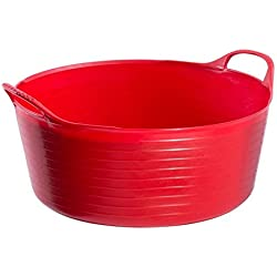 Red Gorilla Shallow Flexible Tubtrug (Small) (Red)