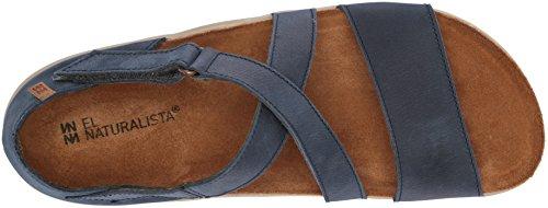Femme Pleasant Bleu Sandales Velcro Ocean Koi N5098 x1HIdwTqq
