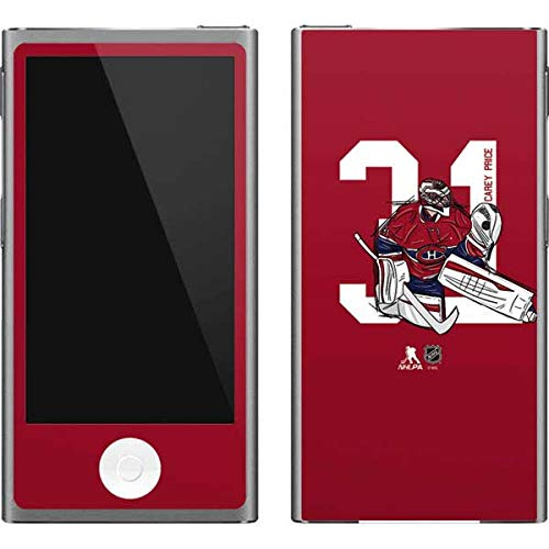 (Skinit NHL Montreal Canadiens iPod Nano (7th Gen&2012) Skin - Carey Price #31 Action Sketch Design - Ultra Thin, Lightweight Vinyl Decal Protection )