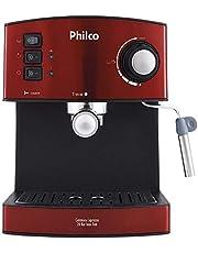 Cafeteira Expresso 20 Bar Inox Red, 850w, 220v, 53902048 Philco Vermelho, Preto/ Inox