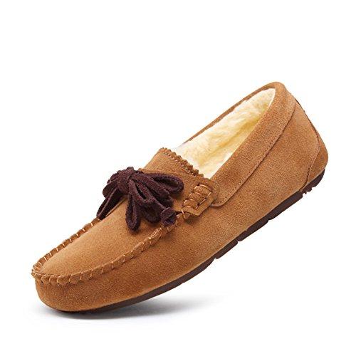 Zapatos casuales de moda/Zapatos de Doug/Más pelusa pisos/Zapatos de arco B