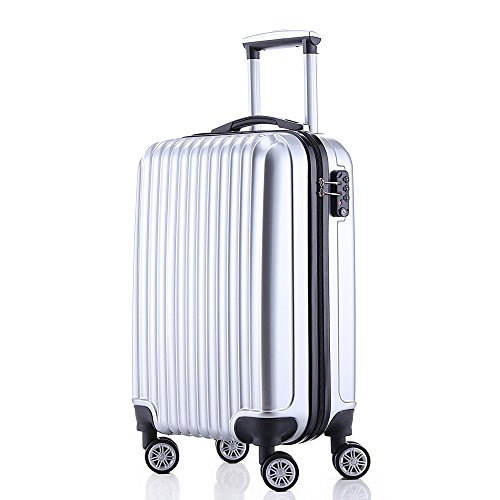 Fochier Carry On Luggage 20 Inch Hardside Spinner 4 Double Wheels With TSA
