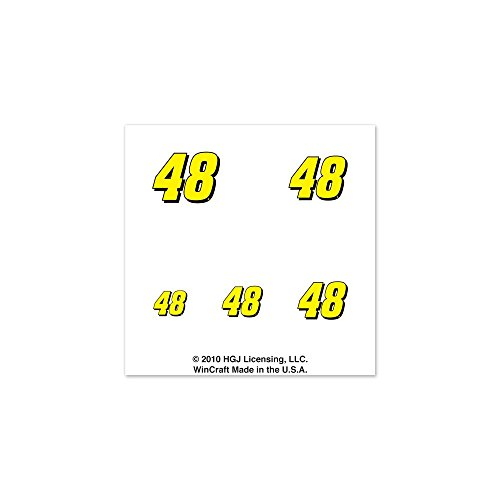 Jimmie Johnson Official NASCAR 1 inch Fingernail Tattoo Set - Jimmie Johnson Set