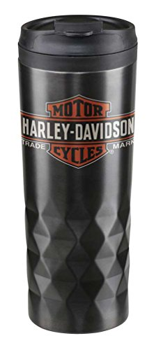 Harley-Davidson Core Trademark Logo Stainless Steel Travel Mug, HDX-98612