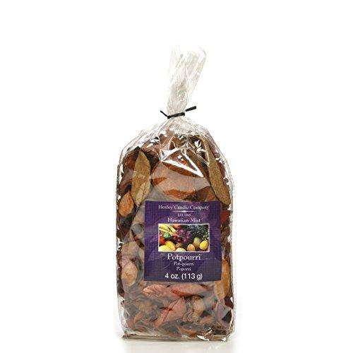 Hosley Tropical Hawaiian Mist Potpourri Bag, 4 Oz. Infused with Essential Oils. Ideal Gift for Weddings, Spa, Reiki, Meditation Settings O9
