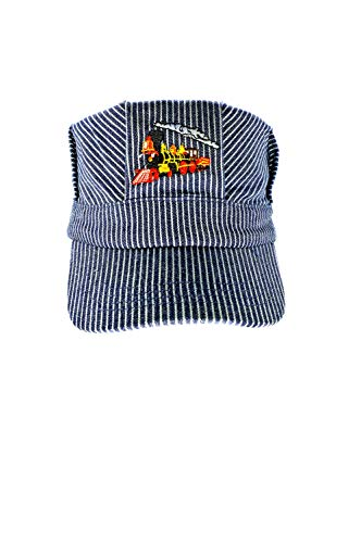 The ''Real Deal Boys Red Steam Engine , Embroidered Train Engineer Hat , with I Love ()