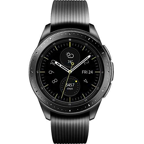 Samsung Galaxy Watch (42mm) Smartwatch (Bluetooth) Android/iOS Compatible -SM-R810 - Intenational Version -No Warranty (Midnight Black)