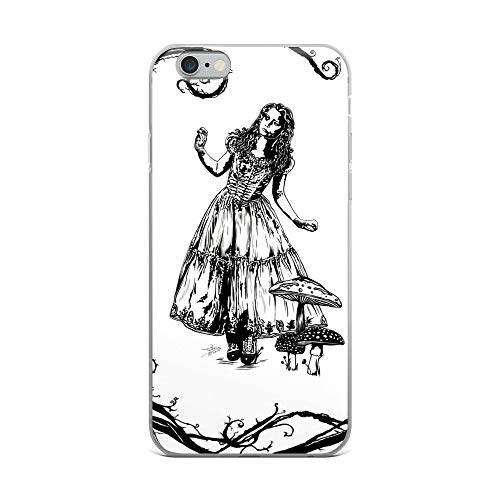 iPhone 6 Plus/6s Plus Case Anti-Scratch Motion Picture Transparent Cases Cover Alice in Wonderland Movies Video Film Crystal Clear]()