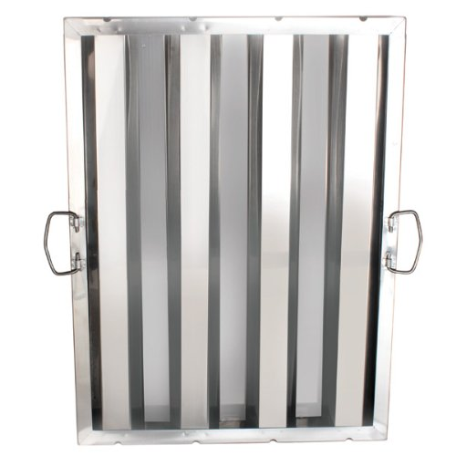 1 Each Thunder Group Hood Filter 16'' X 25'', Stainless Steel