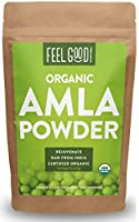 Certified USDA Organic Amla Powder (Phyllanthus emblica) Indigenous to the Indian subcontinent, the amla fruit is a rich source of vitamin C and powerful antioxidants that work synergistically within the body to rejuvenate you. For centuries, natives...