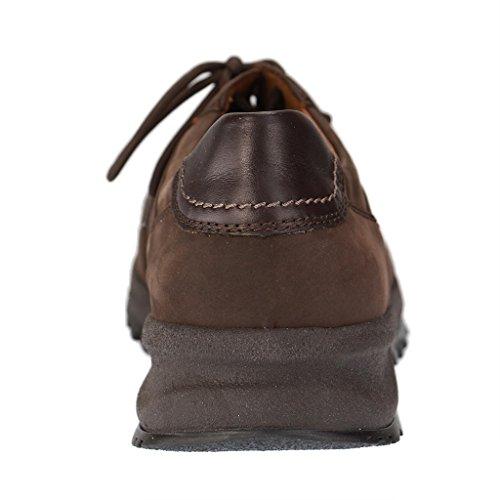 Waldlaufer Mens Helle 388001 Nubuck Shoes Moro