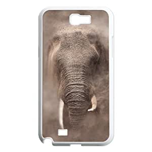 African Elephant Personalized with Hard Shell Protection For Case Samsung Galaxy Note 2 N7100 Cover lxa#820865