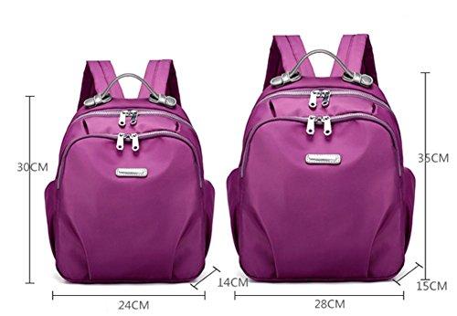Ladies shoulder bags,sacchetto del panno di oxford,cartella di viaggio-porpora piccolo