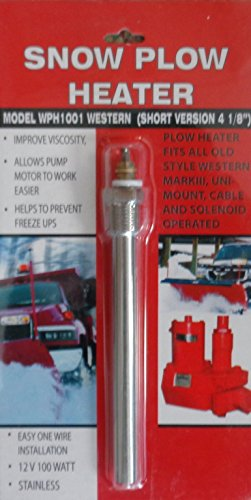 Combined Manufacturing Snow Plow Heater - Keep Your Engine Running In Cold Weather - Improves Oil Viscosity