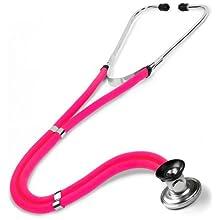 NCD Medical Sprague Rappaport Estetoscopio, color rosa neón