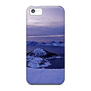 For DTG24503EHfj Taal Crater Lake Protective Cases Covers Skin/iphone 5c Cases Covers