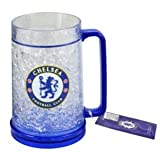Authentic Chelsea FC Freezer Mug - Official Chelsea FC Product - Great Item for Chelsea Fans - Men and Women Love This Mug
