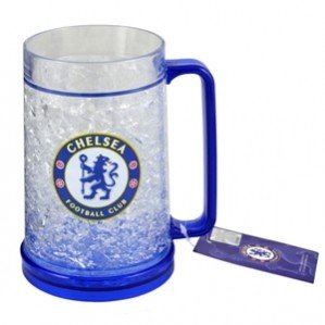 Authentic Chelsea FC Freezer Mug – Official Chelsea FC Product – Great Item for Chelsea Fans – Men and Women Love This Mug – DiZiSports Store