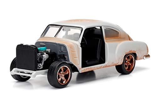 Jada Toys Fast & Furious 1:24 Dom's Chevy Fleetline Die-cast Car, Toys for Kids and Adults, Multi, Standard (98294) 1
