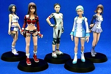 Eureka Seven TR: 1 NEW WAVE Eureka Characters all five