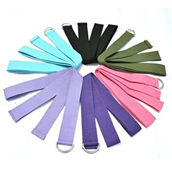 Buy Generic Yoga Stretch Strap D Ring Belt line at Low Prices in