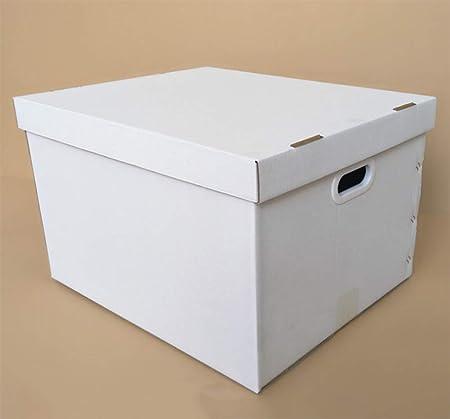 OOFAY Caja corrugada, Caja de Almacenamiento Plegable, Caja de Almacenamiento de Ropa con Tapa, Compartimento Plegable multifunción,A,Outerdiameter65*53 * 42cm: Amazon.es: Hogar