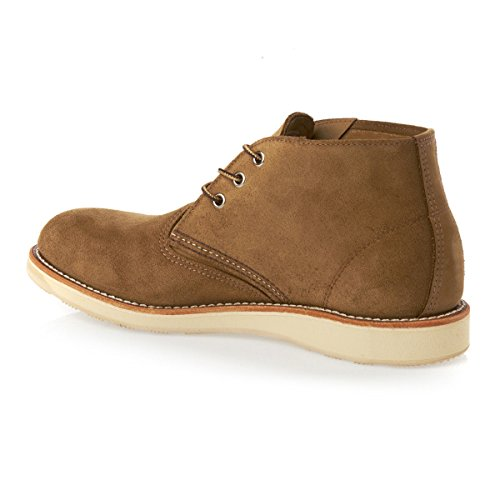 Red Wing Mens Chukka 3149 Suede Boots Olive Mohave