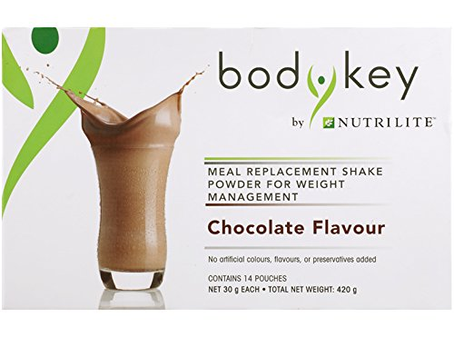 1 x Amway BodyKey by Nutrilite Meal Replacement Shake ( Chocolate ) by Amway