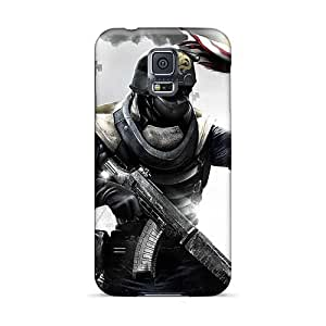 Shock-Absorbing Hard Phone Cases For Samsung Galaxy S5 With Customized High Resolution Rise Against Skin KaraPerron